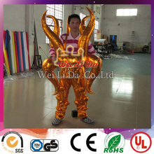 Hot sale special inflatable cartoon festival advertising dragon characters
