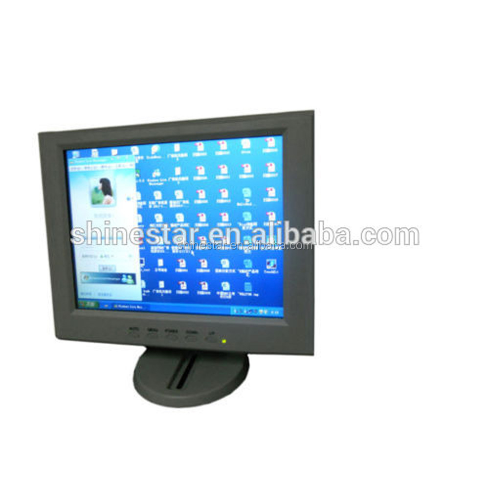 10.4 inch Car Computer POS LCD Touch Screen VGA <strong>monitor</strong> for desktop car home
