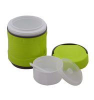1.0L fancy bowl plastic home food container