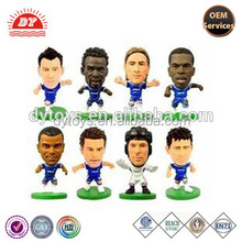 ICTI certificated custom made miniature soccer players toys figure