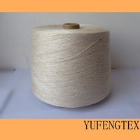 Yarn manufacturer Cotton/Linen 85%/15% 26S blended with slub yarn For knitting and weaving