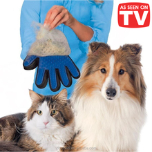Factory Wholesale As Seen On TV Grooming Dogs Cats Bath Pet Massage Glove True Touch