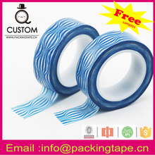 Free sample stripes japanese inspired washy tape with high quality