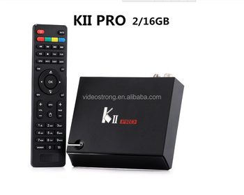 S912 Octa core Android 7.1 TV Box 3GB 16GB/32G kiii pro 4k satellite receiver