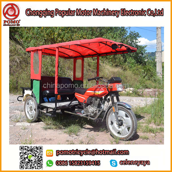 YANSUMI Passenger T-Rex Motorcycle,Tricycle Food Cart,Bajaj Discover 100Cc Piston