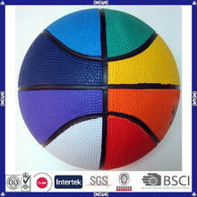 Outdoor wholesale cheap promotional colorful basketball