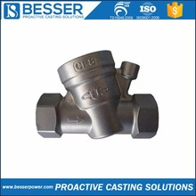 310 stainless steel 1.0308 carbon steel 40Cr steel silicone sol precision casting 4 inch gate valve factory