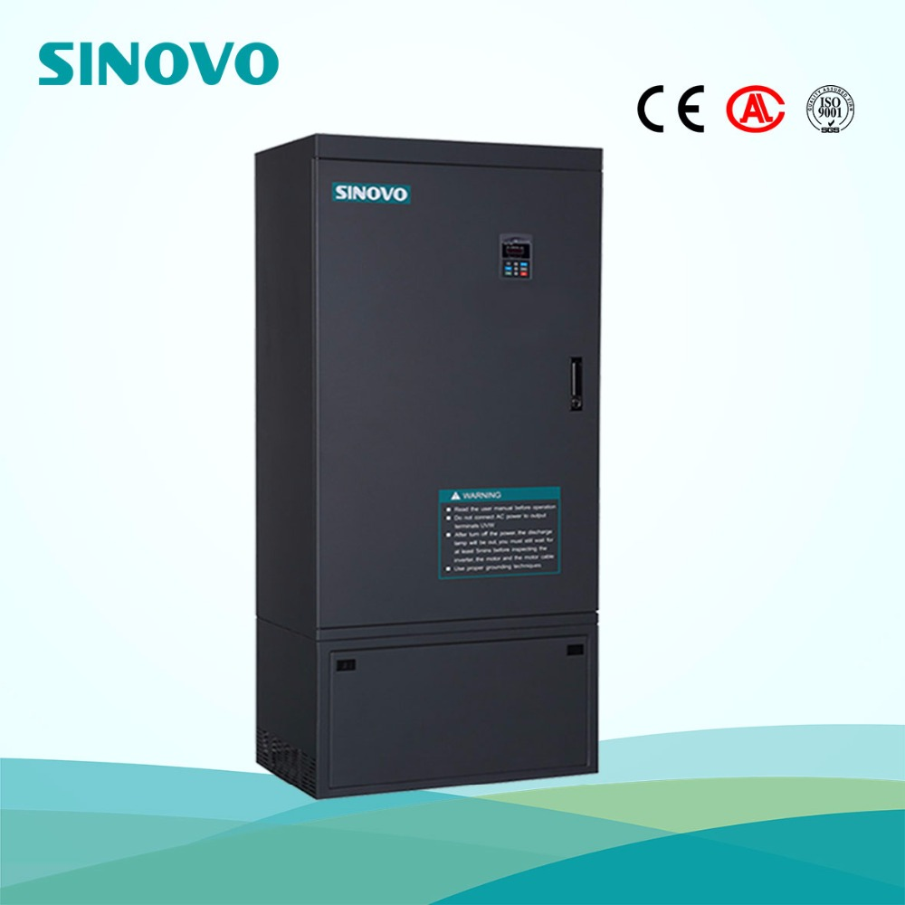 1.5kw Output Power and Triple Output Type solar water pump inverter