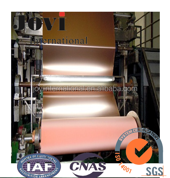 Copper Foil with Thickness of 0.070mm-0.210mm and 1380mm Width