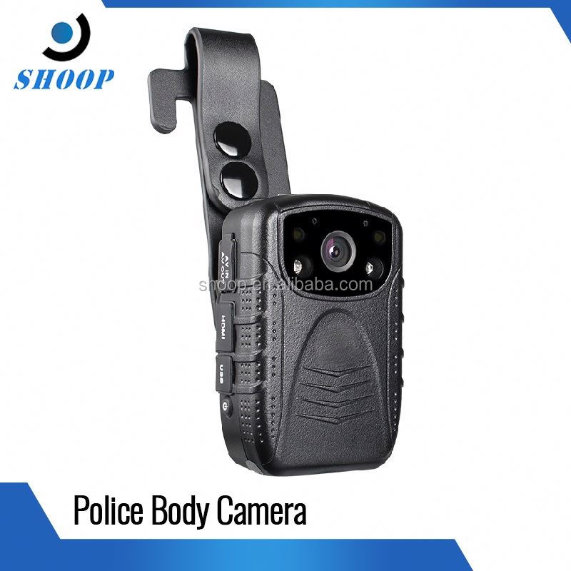 Ambarella motion detecting 1080P wearable body police security camera with GPS