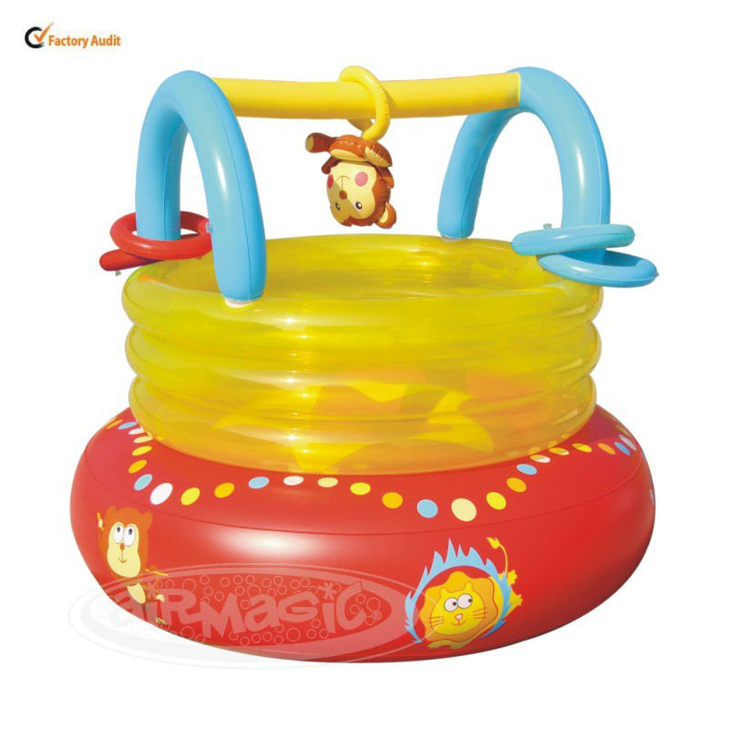 Baby Inflatable House-8203 PVC Bouncer Baby Jungle Gym Toys
