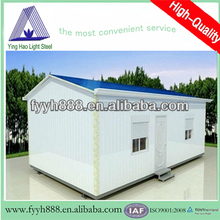 galvanized steel manufactured prefab container home for sale