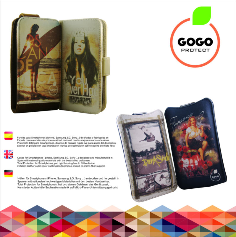 Smartphone leather cases from Spain