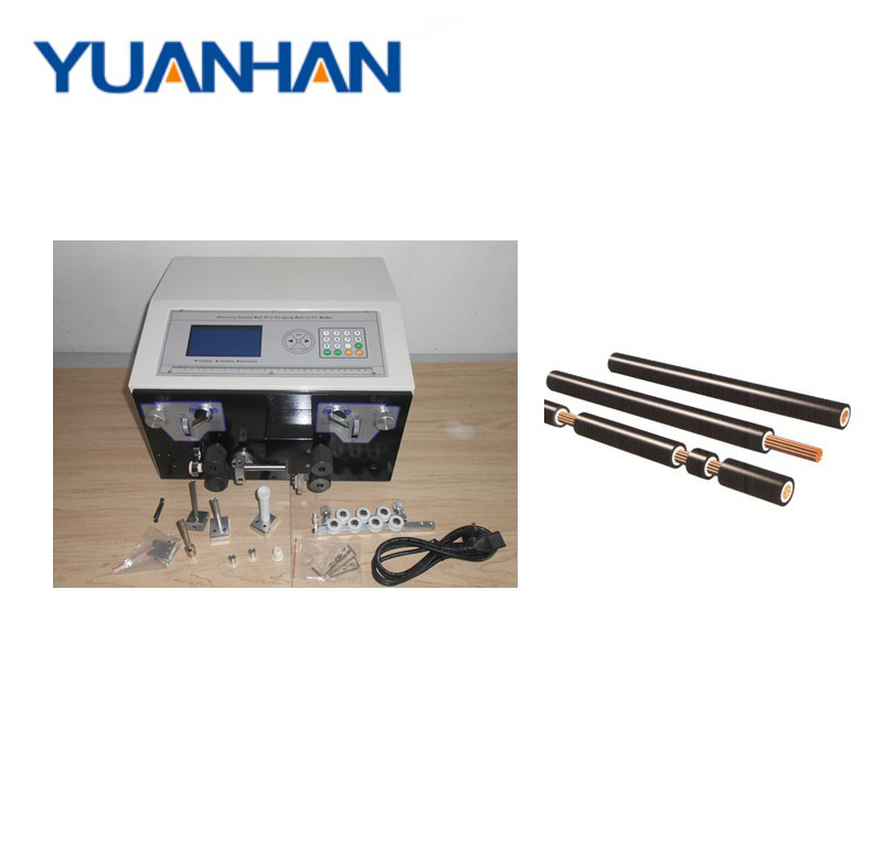 0.1-4.5mm2 선 필링 기계 electrical cable 스트리핑 cutting machine