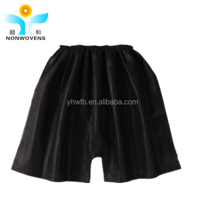 Non woven disposable shorts panties for SPA massage