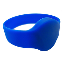 Print Support Colorful Passive Cheap Silicone Bracelet RFID UHF Wristband for People Management
