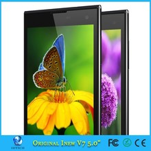 Original cell phone inew V7 5.0inch MTK6582 Quad Core Mobile Phone Android 4.4 Dual Sim 3G WCDMA Smartphone