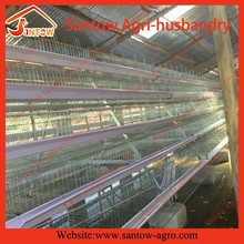 Chicken egg laying equipment in Ghana farm