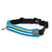 Neoprene new style LED sport running waist pouch smart phone key waist bag with reflective stripe