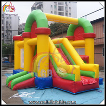 quadruple sewing inflatable bouncer combo amusement castle from China GB air products factory