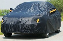 Customized Anti-Scratch Polyster Taffeta Inflatable Hail Proof Car Cover