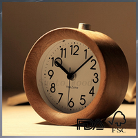 custom personality wooden alarm clock for sale
