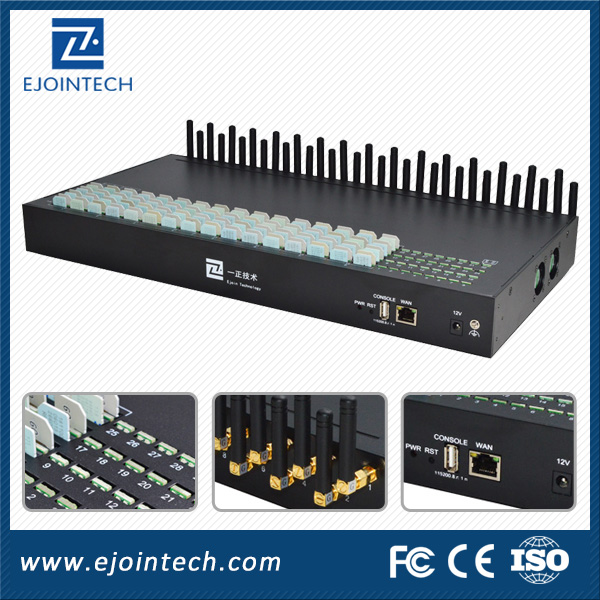 gsm to analog converter new design 128 Sim 32 Port goip gsm gateway