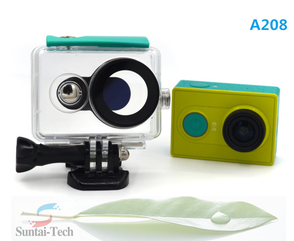 Xiaoyi camera waterproof case for xiaomi yi accessories A208