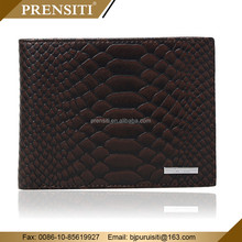 PRENSITI Manufacturers designed themed mens trending leather wallet purse