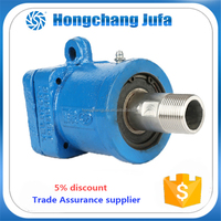 Coaxial rotary joint/chiksan rotary joint with the mechanical seal.