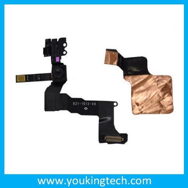 Mobile Phone Flex Cables Front Face Camera front cam with Flash Flex Cable Module Repairs For iPhone 5C