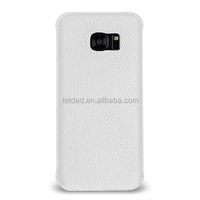 TETDED Premium Leather Case for Samsung Galaxy S7 edge -- Caem (LC:White)