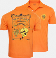 OEM service custom 100 percent cotton high quality pima cotton printing polo shirt