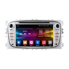 double din for ford galaxy in car dvd Android 6.0 2G RAM DAB+ TPMS OBDII DAB+ ford galaxy S-max in car dvd ford most models