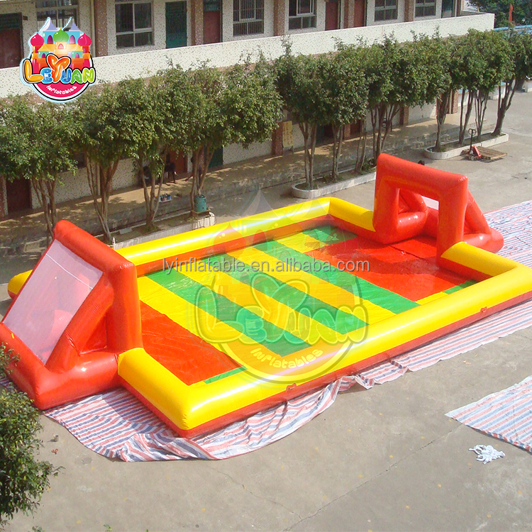 Inflatable PVC Water Soap Football / Soccer Field