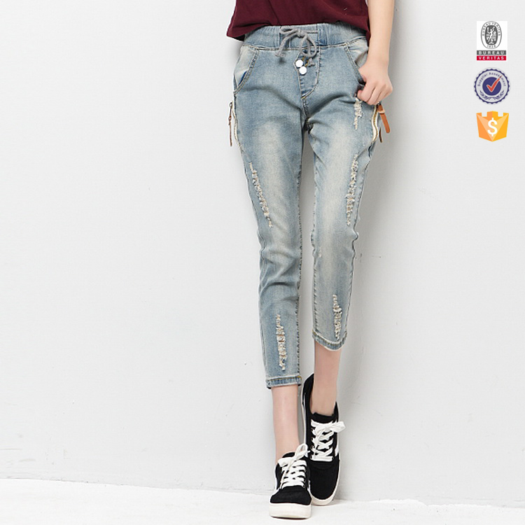 100% OEM survice from liaoning to make your own brand jeans