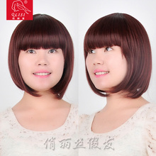 High quality best price synthetic hairs straight wave bob wigs