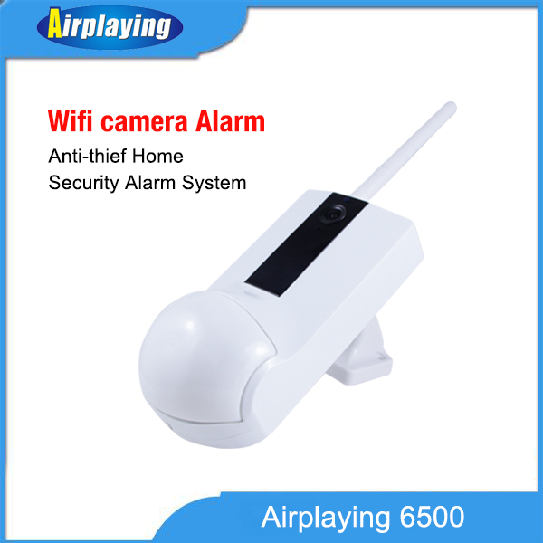 wifi camera alarm anti thief home system wifi ip camera with i/o alarm port