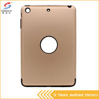 Cool design armor case for ipad mini 2 with tpu pc combination shockproof