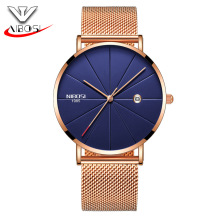 Ultra Thin Mens Luxury Watch NIBOSI Wrist Watch 2321 Replacement Band