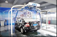 Hot sale mobile automatic car wash machine with car wash air freshener