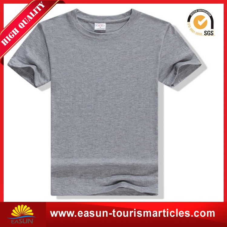 Cheap price t-shirt custom logo longline t shirt men 65% polyester 35% rayon t-shirt