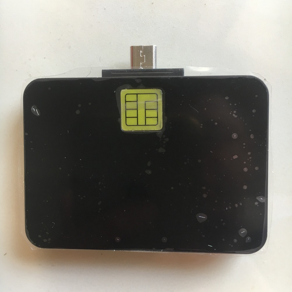 Mobile Phone Smart Chip EMV Card Reader