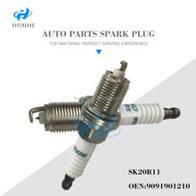 High Quality Autolite Spark Plugs 90919-01210 SK20R-11 For Old corolla guangzhou auto parts