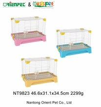 OASISPET & ORIENPET Pet products Pet cages New items NT9823 Wire+PP Rabbit cages