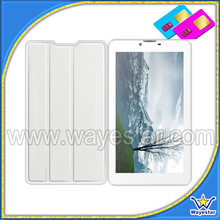 7inch HD screen 3G MTK6572 dual core Tablet Phone with free case