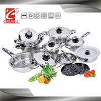 21pc cookware german style cookware sets kitchenware