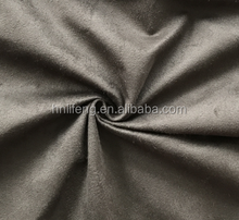 Suede stretch DOUBLE FACE leather fabric 100% Polyester spandex Microfiber soft fine and smooth colorful bag