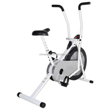 Home Gym Equipment Air Resistance Upright Indoor Exercise Bike Indoor