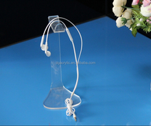 Acrylic cable earphone display/stand for cable earphone